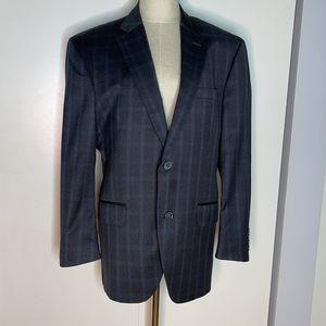 Peter Millar Flynn Plaid Wool Sport Coat